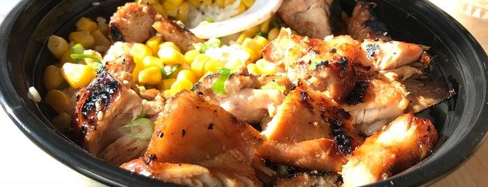 Makana Hawaiian & Japanese BBQ is one of eats to try.