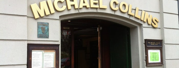 The Michael Collins Irish Pub is one of Lista Cris B..