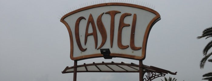 Castel Plage is one of Beach.