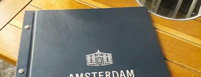 Amsterdam hotel&restaurant is one of Odessa.