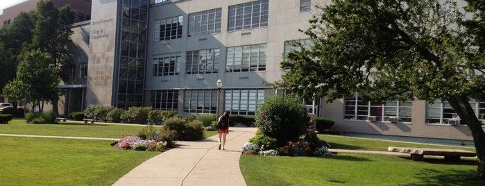 Boston University College of Communication (BU COM) is one of Best BU Study Spots.