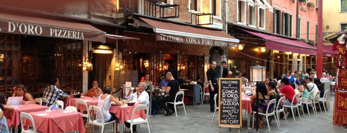 Trattoria Conca D'Oro is one of The 15 Best Places for a Pizza in Venice.