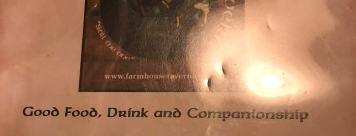 The Farm House Tavern is one of places.