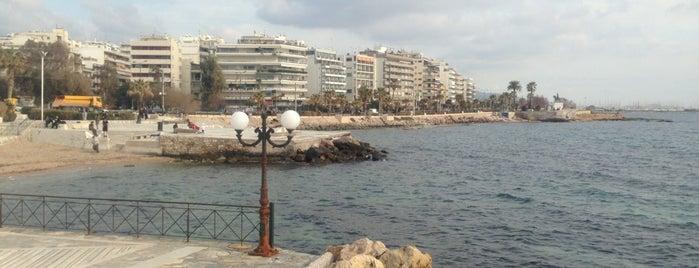Palaio Faliro Beach is one of Athens.