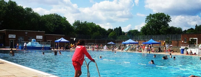 Parliament Hill Lido is one of 1000 Things To Do In London (pt 2).