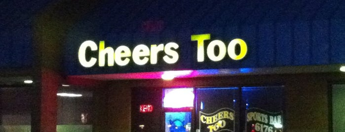 Cheers Too is one of Best Bars in Columbus to Watch NFL SUNDAY TICKET™.