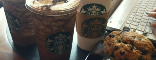Starbucks is one of mylist.