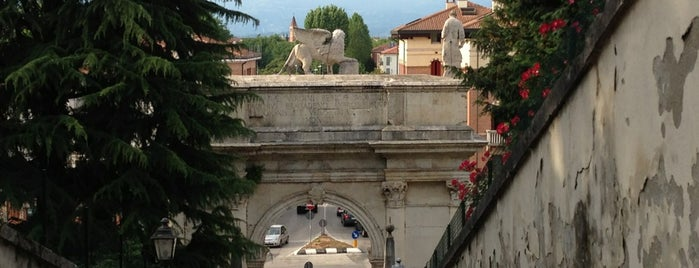 Arco delle Scalette is one of Vicenza, City of Palladio.