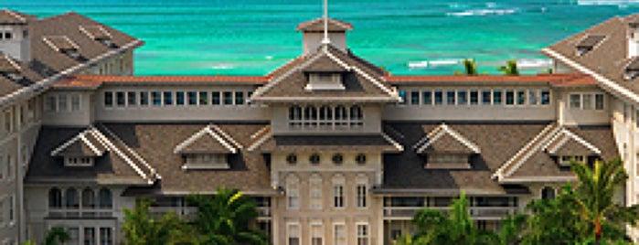 Moana Surfrider, A Westin Resort & Spa, Waikiki Beach is one of Oafu.