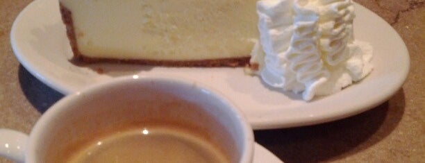 The Cheesecake Factory is one of Lukas' South FL Food List!.