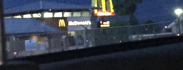 McDonald's is one of places I been.