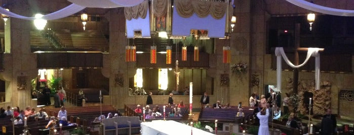 National Shrine of the Little Flower is one of Worship with Lauren.