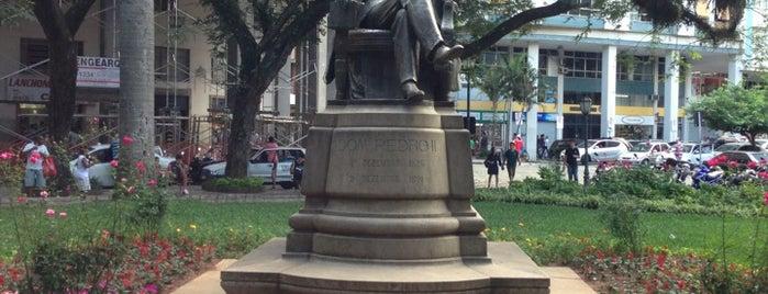 Praça Dom Pedro II is one of Petrópolis RJ.