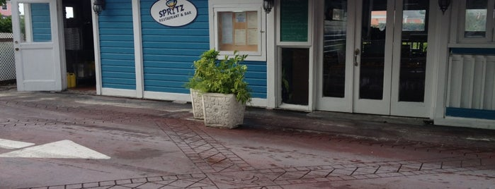 Spritz Bar & Restaurant is one of The 15 Best Places for Seafood in Nassau.