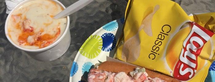 Rye Harbor Lobster Shack is one of Ultimate Summertime Lobster Rolls.