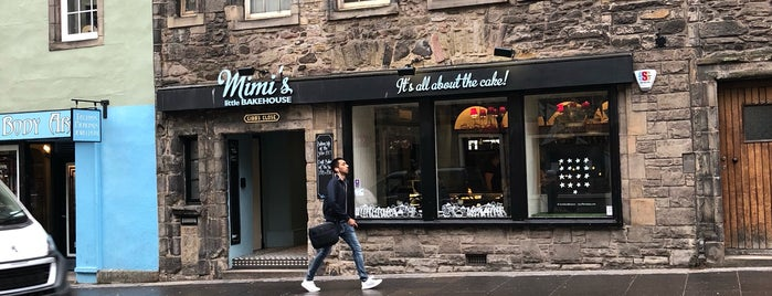 Mimi's Bakehouse is one of Edinburgh.