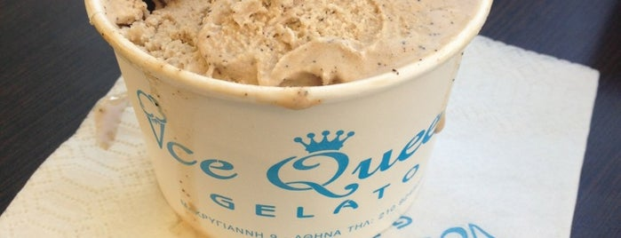 Ice Queen Gelato is one of Athens Approved.