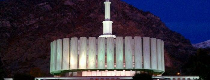 Provo Utah Temple is one of Utah LDS (Mormon) Temples.