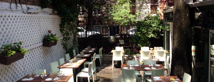 A.O.C. L'aile ou la Cuisse is one of NYC's Best Patios, Rooftops, and Beer Gardens.