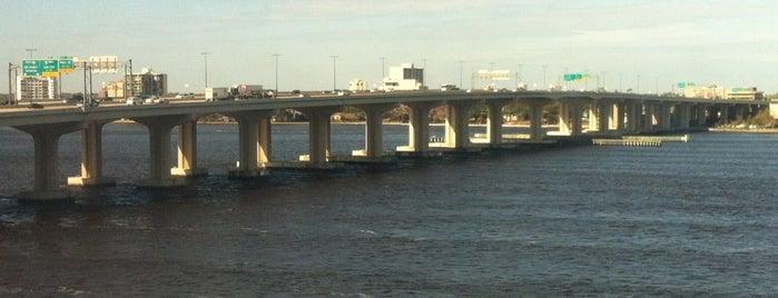 Fuller Warren Bridge is one of Highways & Byways - JAX.