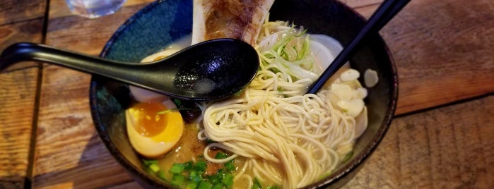 Shinka Ramen & Sake Bar is one of NY Bucket List.