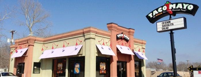 Taco Mayo is one of Oklahoma.