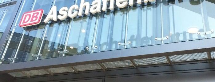 Aschaffenburg Hauptbahnhof is one of visited stations.
