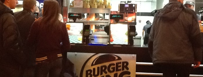 Burger King is one of PayPass Piter.