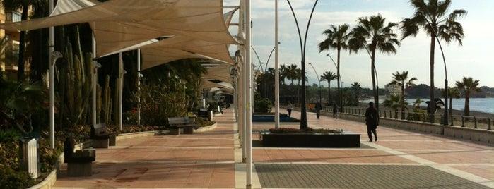 Estepona Boardwalk is one of Alex.