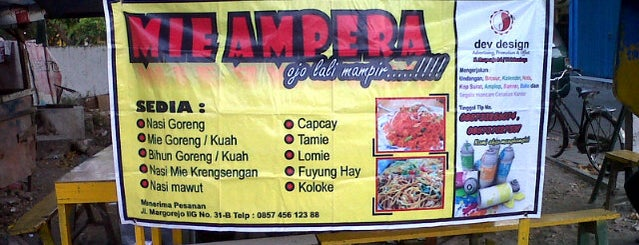 Mie Ampera Margorejo is one of Eat and Eat.