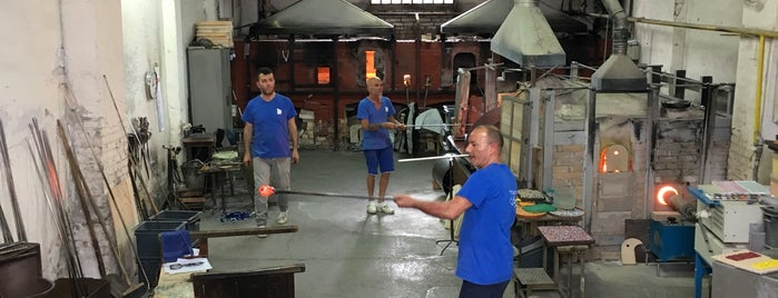 Signoretti Murano Glass Center is one of Venice.