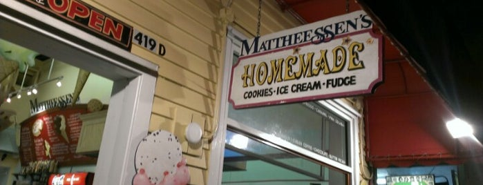 Mattheessen's 4th of July Ice Cream Parlor is one of Key West.