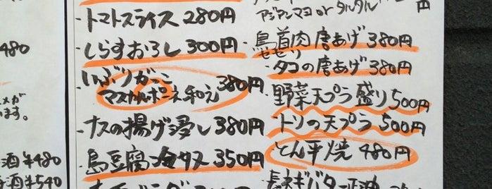 かじやん is one of 阿佐ヶ谷スターロード.