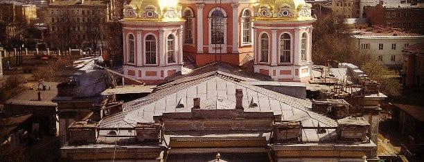 Крестовоздвиженский собор is one of Православный Петербург/Orthodox Church in St. Pete.