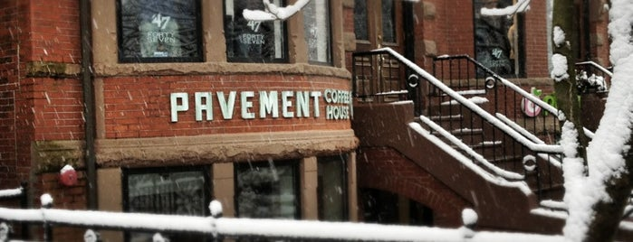 Pavement Coffeehouse is one of Boston.