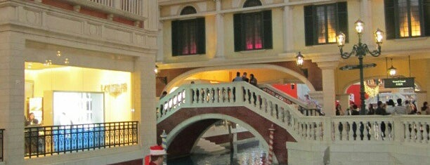The Venetian Macao is one of Hotels, Resorts, Villas of the World.