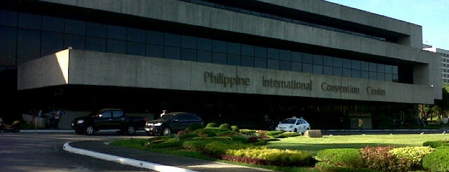 Philippine International Convention Center is one of Faves!.