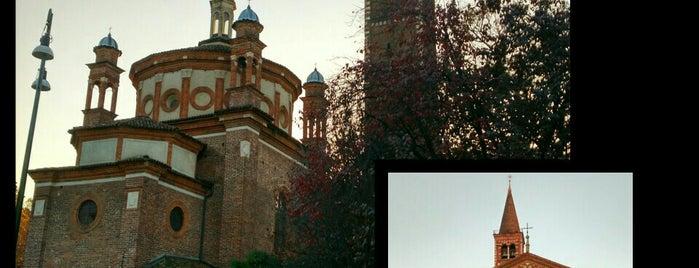 Basilica di Sant'Eustorgio is one of Milano.