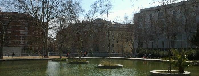 Jardins del Príncep de Girona is one of Route Recinte Modernista.