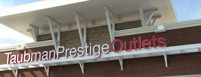 Taubman Prestige Outlets is one of Places I End Up Frequently.