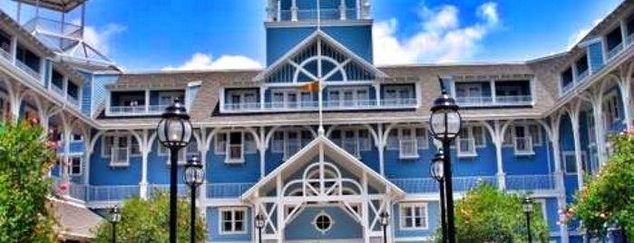 Disney's Beach Club Resort is one of Walt Disney World.