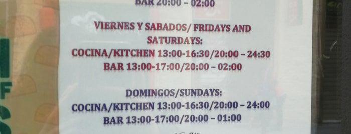 El Calambrito is one of Restaurantes Malaga.