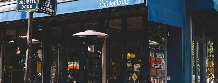 La Fontaine de Belleville is one of Paris.
