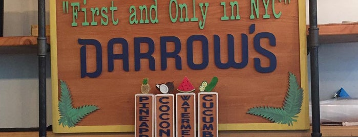 Darrow's is one of New Office Lunch Spots.