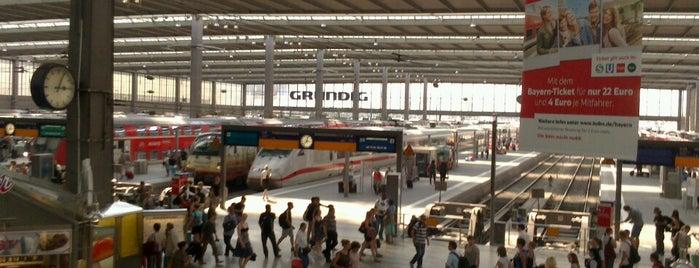München Hauptbahnhof is one of Bahnhöfe Deutschland.