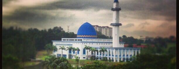 Masjid UNITEN is one of masjid.