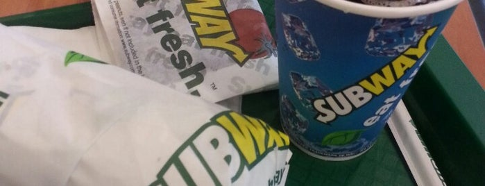 Subway is one of Food and Drinks.