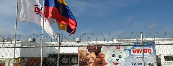 Bimbo de Colombia SA is one of Empresas.