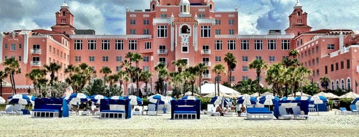 Loews Don CeSar Hotel is one of Historic Hotels to Visit.