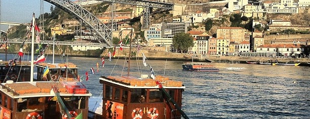 Cais da Ribeira is one of Porto.
